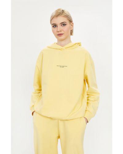 Желтая кофта с капюшоном Baon