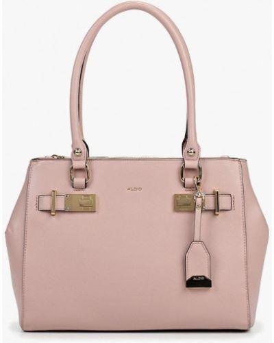 Кожаный сумка с ручками розовый Aldo