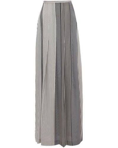 Юбка макси с завышенной талией в складку Kiton