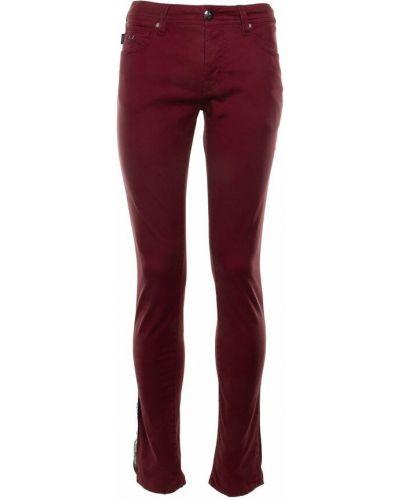 Czerwone mom jeans Tramarossa