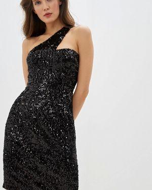 Вечернее платье осеннее черное Fashion.love.story