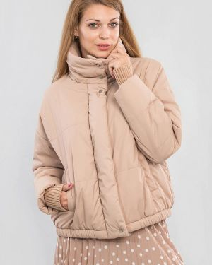 Утепленная куртка - бежевая Maxa