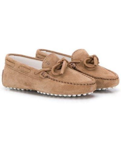 Лоферы для обуви плоский Tod's Kids