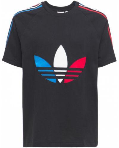 Ватная хлопковая футболка Adidas Originals