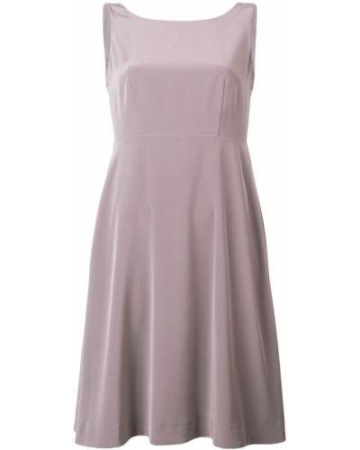 Платье миди средней длины - серое Luisa Cerano