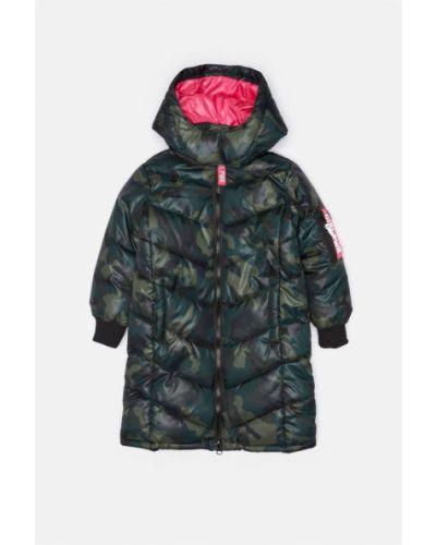 Зимняя куртка стеганая текстильная Acoola