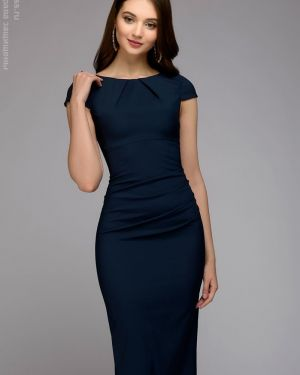 Летнее платье футляр миди 1001 Dress