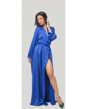 Синее вечернее платье Lipinskaya Brand