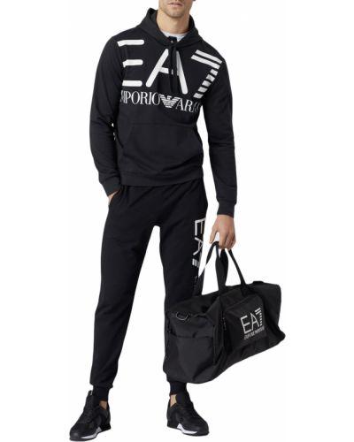 Спортивный костюм черный Ea7