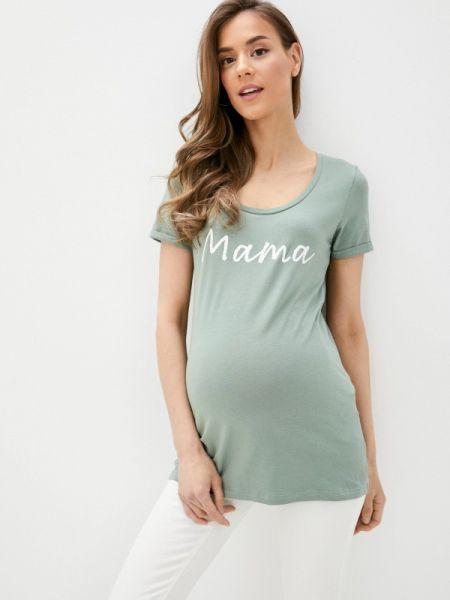 Зеленое футбольное поло Mama.licious