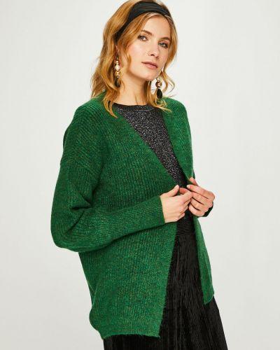 Свитер оверсайз свободного кроя зеленый Answear