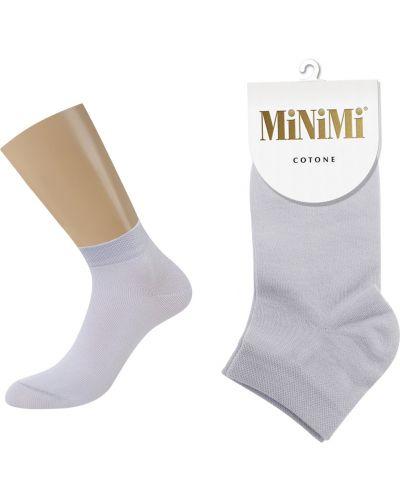 Хлопковые носки - серые Minimi