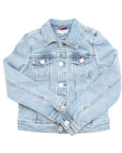 Niebieski kurtka jeansowa Tommy Hilfiger