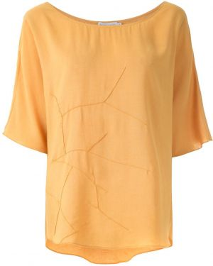 Желтый топ Mara Mac