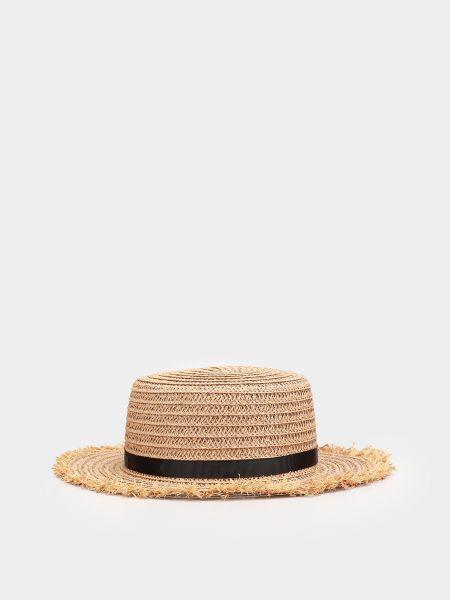 Бежевые шляпа Braska