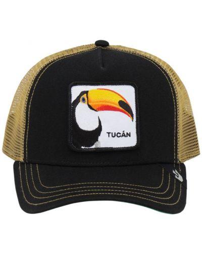 Czarna czapka z siateczką Goorin Bros