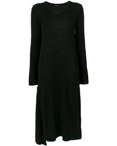 Платье макси вязаное с V-образным вырезом Uma   Raquel Davidowicz