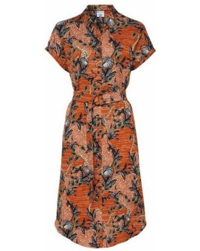 Pomarańczowa sukienka Desoto