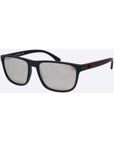 Солнцезащитные очки пластиковые стеклянные Emporio Armani