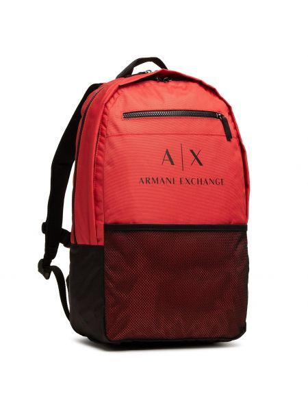 Czerwona torebka Armani Exchange