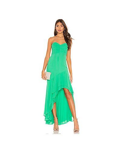 Вечернее платье с декольте платье-майка Lovers + Friends