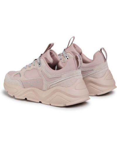 Różowe sneakersy Big Star