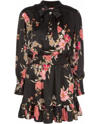 Платье мини макси с цветочным принтом Misa Los Angeles