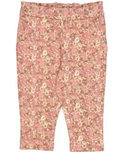 Różowe spodnie Wheat