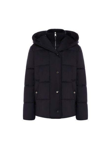Куртка с капюшоном стеганая шерстяная Boss