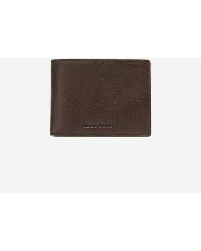 Brązowy portfel elegancki Marc O Polo