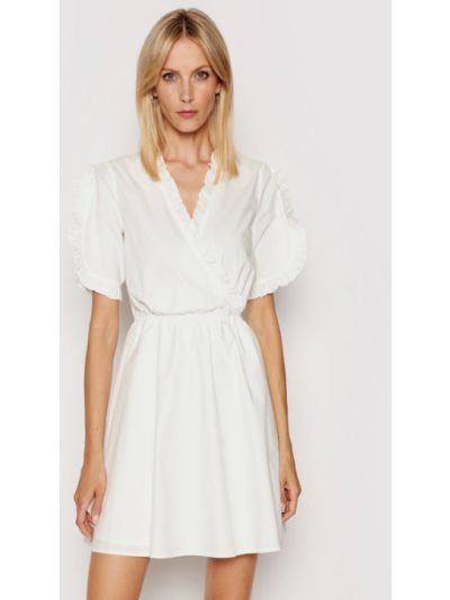 Sukienka casual - biała Na-kd