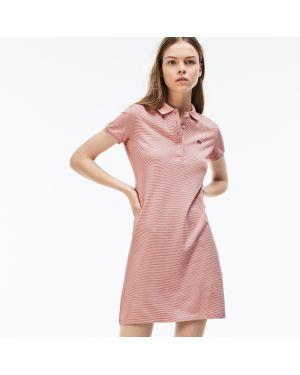 Платье красный Lacoste