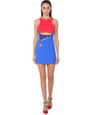 Платье мини стрейч с вырезом Fausto Puglisi