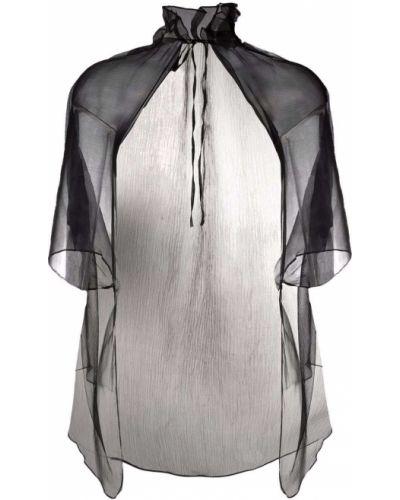 Черная куртка короткая Atu Body Couture