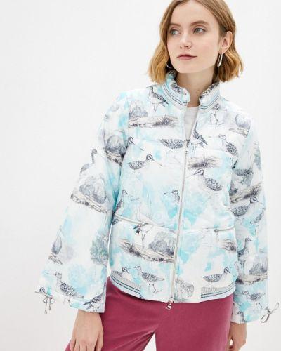 Белая утепленная куртка Alexander Bogdanov
