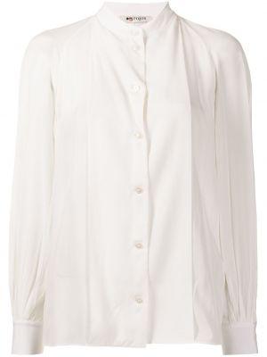 Шелковая рубашка - белая Ports 1961