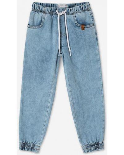 Голубые джинсы с карманами Gloria Jeans