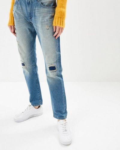 Голубые джинсы бойфренды Rifle