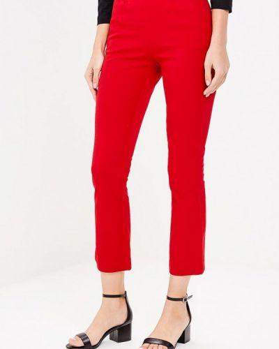 Красные брюки прямые Gap
