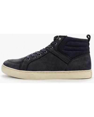 Высокие кроссовки - синие Affex