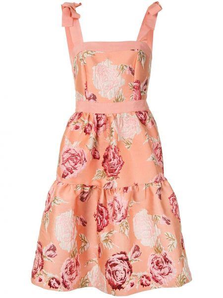 Платье с цветочным принтом на молнии Alice Mccall