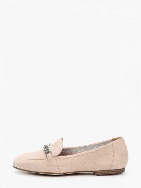 Кожаные туфли зеленый бежевый S.oliver