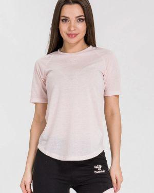 Розовая футбольная футболка Hummel