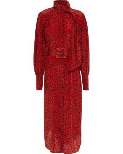 Шелковое платье миди Zimmermann