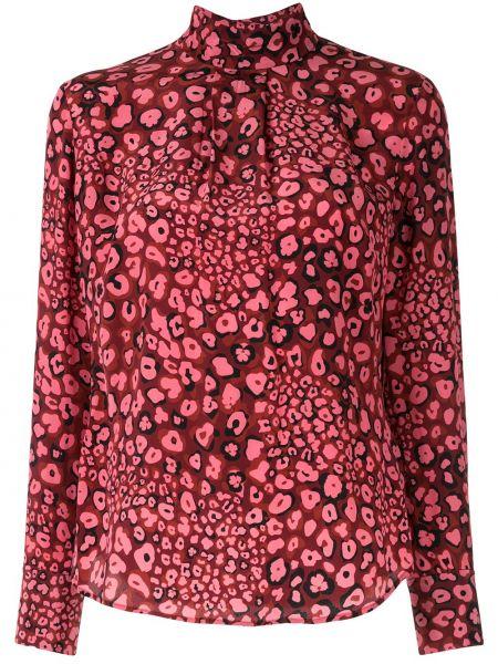 Розовая блузка с длинным рукавом Cefinn