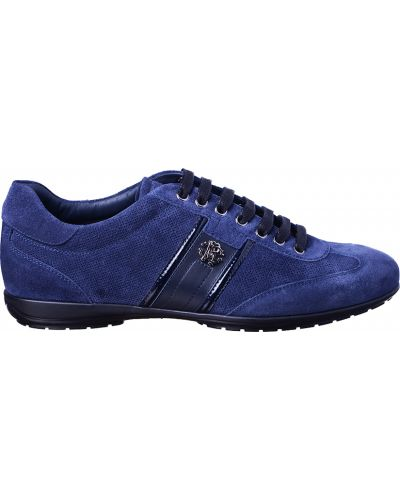 Синие кроссовки Roberto Cavalli