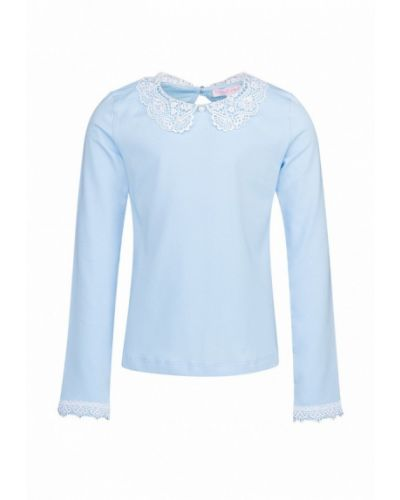 Голубая блуза красавушка