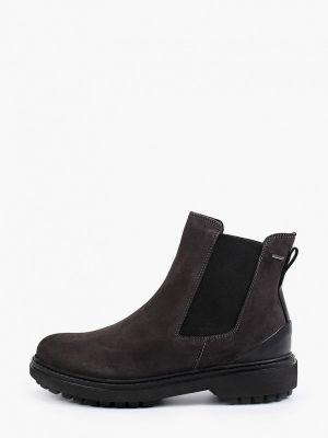 Серые текстильные ботинки Geox