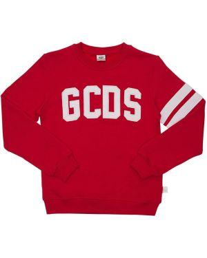 Bluza na szyi z logo Gcds