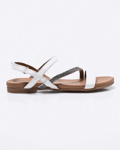 Белые сандалии Tamaris